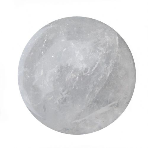 Rock Quartz Crystal Ball Scrying Gazing Fortune Telling Sphere 57mm 260g CB6